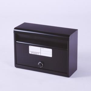 5月末入荷予定☆郵便ポスト スチールポスト カラーポスト (ダイヤル錠タイプ) マットブラック FH-50D(MBK) メールボックス ダイヤル錠式|1128