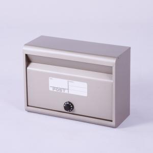 郵便ポスト スチールポスト カラーポスト (ダイヤル錠タイプ) チタングレー FH-50D(TGY) メールボックス ダイヤル錠式|1128