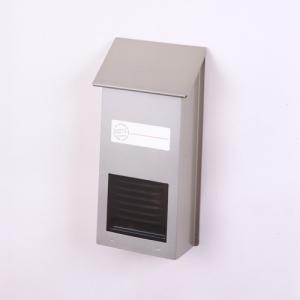 郵便ポスト スチールポスト チタングレー FH-10(TGY) 壁掛けポスト スリム コンパクト メールボックス 鍵なし|1128