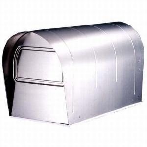 郵便ポスト ステンレスアメリカンポスト US-43 ※ポール別売 メールボックス 鍵なし|1128