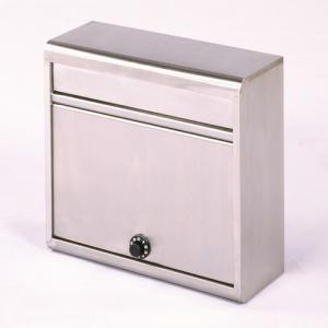 郵便ポスト ステンレスポスト PH-614D A4対応 メールボックス ダイヤル錠|1128