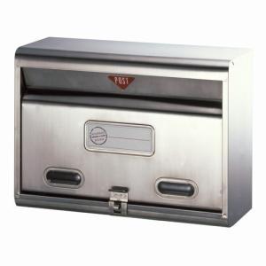 郵便ポスト ステンレスポスト PH-50 メールボックス 鍵なし|1128