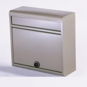 郵便ポスト 家庭用郵便ポスト(ダイヤル錠付・チタングレー) FH-614D(TGY) メールボックス ダイヤル錠式|1128