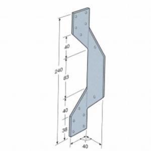 シンプソン金具(SIMPSON) 型番H2|1128