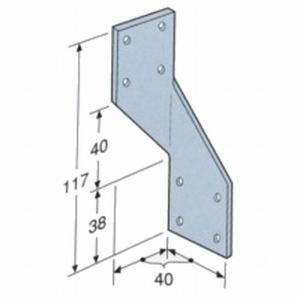 シンプソン金具(SIMPSON) 型番H3/右|1128