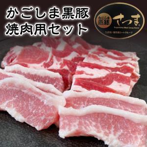 豚肉 肉 国産 かごしま黒豚 焼肉セット 750g-セット価格|1129nikulabo