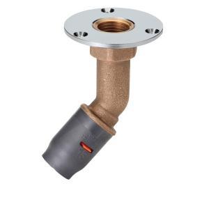 【アロン化成(株)】 45°床アダプター 3DJ-45FWS-13-RC1/2  給水・給湯用アルミ三層管継手|1132jp