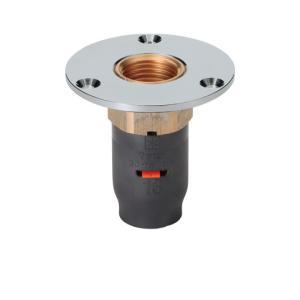 【アロン化成】 床アダプター 3DJ-FWS-13-RC1/2    給水・給湯用アルミ三層管継手|1132jp