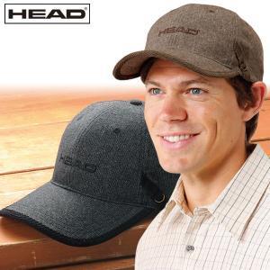 HEAD ヘッド ツイード調キャップ 2色組 アジャスター付 メンズ 秋冬 帽子 キャップ 952912|1147kodawaru