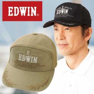 EDWIN エドウィン つば刺しゅう入りワイドキャップ 2色組  メンズ  帽子 キャップ 通年 952959|1147kodawaru