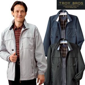 TROY BROS トロイブロス 多機能ジャケット メンズ 秋冬 957177 8ポケット アウター ブルゾン ジップアップ 50代 60代|1147kodawaru