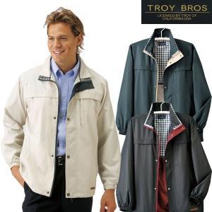 TROY BROS トロイブロス 撥水裏メッシュジャケット 957238 メンズ 春秋冬 ジャケット 50代 60代|1147kodawaru