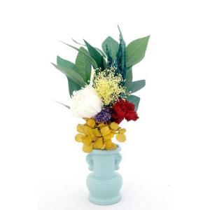 プリザーブドフラワーの枯れない仏花(小)|1147kodawaru