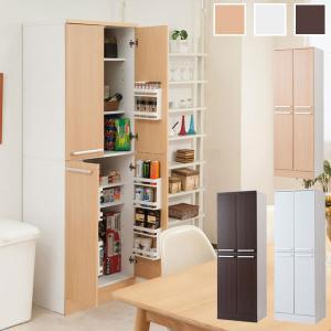 食器棚 キッチンストッカー パントリー 幅60cm メラミン樹脂コート Face Neat Calm FY-0041/FY-0042/FY-0043-NS|1147kodawaru