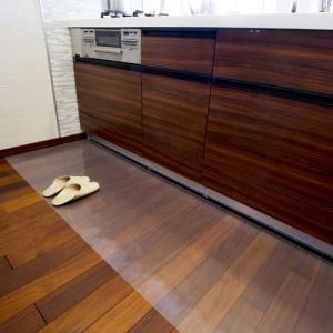 アキレス 透明キッチンフロアマット 60×90cm|1147kodawaru