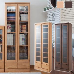 天然木書棚 幅60cm ハイタイプ 本棚/書棚/食器棚/カップボード/完成品/TE-0038/TE-0042|1147kodawaru