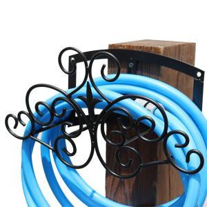 壁掛け式ホースハンガー フィニアル アイアン ホーススタンド IPN-7682 完成品|1147kodawaru
