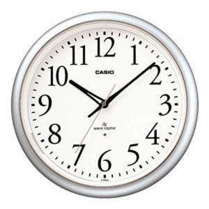 CASIO カシオ 秒針停止機能LEDライト付き 電波時計 IQ-1050NJ-8JF(掛け時計)|1147kodawaru