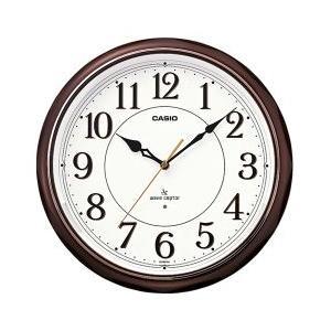 CASIO 秒針停止機能LEDライト付き電波時計 IQ-1051NJ-5JF(掛け時計)|1147kodawaru