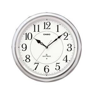 CASIO 秒針停止機能LEDライト付き電波時計 IQ-1051NJ-8JF(掛け時計)|1147kodawaru