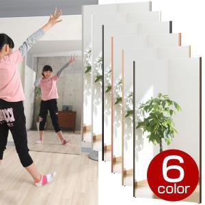 割れない鏡 フィルムミラー スタンドミラー 姿見 壁掛け 大型 リフェクス ジャンボ吊り式 幅80×高さ150cm 軽量 日本製|1147kodawaru