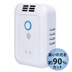 住宅用オゾン脱臭機 オゾンの力 forトイレ 自動消臭・除菌 フィルター交換不要 JF-EO3TW【送料無料】|1147kodawaru