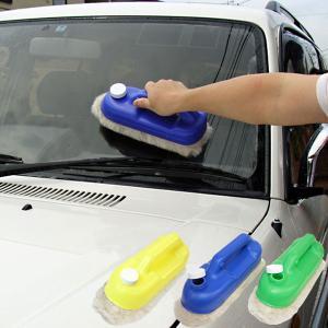 タンク付き洗車ブラシ ラクピカ|1147kodawaru