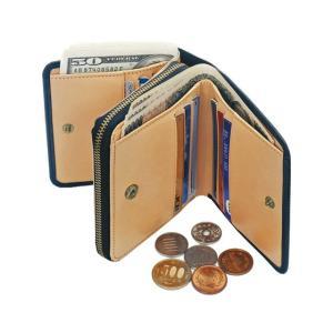 財布 牛革 2種類の通貨 仕分け やりくり財布 日本製 1147kodawaru