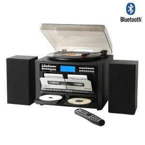 CD録音機能付き Wカセット レコードプレーヤー マルチプレーヤー カセットテープレコーダー Bluetooth CDコピー TS-6159|1147kodawaru