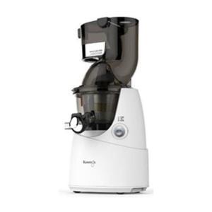 ホールスロージューサー クビンス JSG622W ホワイト 野菜 果物 ジューサー 石臼方式 低速搾...