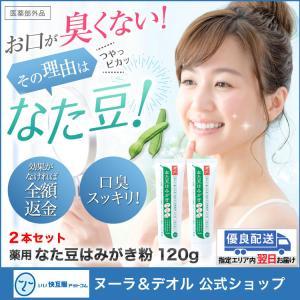 歯磨き粉 歯みがき粉 歯磨き 歯みがき ハミガキ なた豆 ホワイトニング 口臭 予防 ケア 薬用なた豆はみがきプラス(2本セット) 興和堂 あすつく|11kaigofuku