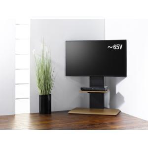組立簡単 棚板付き コーナーテレビ台 テレビスタンド 壁寄せ 壁掛けテレビ台 おしゃれ ロータイプ ...