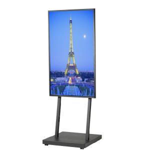 壁掛けテレビ台 テレビスタンド 壁寄せ デジタルサイネージスタンド 移動式 42-55インチ DSS-M55B1 ブラック デジタルサイネージ 通販 電子看板|11myroom