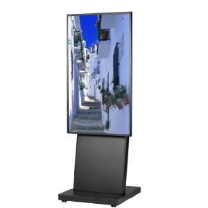 壁掛けテレビ台 テレビスタンド 壁寄せ デジタルサイネージスタンド 移動式 42-55インチ DSS-M55B2 ブラック デジタルサイネージ 通販 電子看板|11myroom
