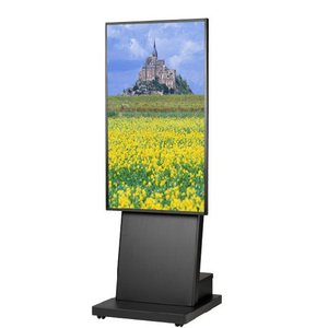 壁掛けテレビ台 テレビスタンド 壁寄せ デジタルサイネージスタンド 移動式 42-55インチ DSS-M55B3 ブラック デジタルサイネージ 通販 電子看板|11myroom
