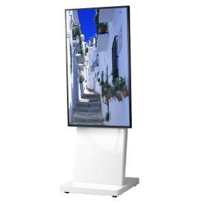 壁掛けテレビ台 テレビスタンド 壁寄せ デジタルサイネージスタンド 移動式 42-55インチ DSS-M55W2 ホワイト デジタルサイネージ 通販 電子看板|11myroom