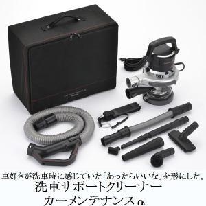 ツインバード 洗車サポートクリーナー カーメンテナンス 掃除機 HC-E255S シルバー サイクロン式掃除機|11myroom