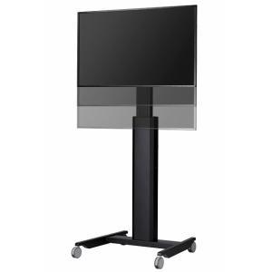 電動昇降装置付き 壁寄せテレビスタンド 移動式テレビスタンド ハイポジションスタンド ムーブ HM-4055 40-55V型 デジタルサイネージ エスディエス SDS|11myroom