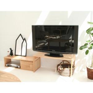 テレビ台 ローボード 42型 ローデスク ロットン Loton 2way TV Board LOK-2968NA ナチュラル 市場家具|11myroom