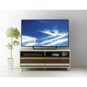 ローボード テレビ台 木製 幅114cm 50型 49V型 ONC-5012AV オルネ 朝日木材加工|11myroom