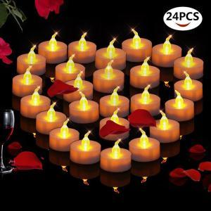 キャンドルライト led 蝋燭 ゆらぎ炎 ト リモコンタイマー点滅機能付き 60時間連続点灯 長い持ち 誕生日 結婚式 部屋 飾り等用 9個セット|11oclock