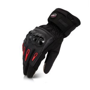 バイクグローブ フルフィンガー ロードバイク 自転車グローブ  登山  サイクリング グローブ スマートフォン対応 防風 防寒 滑り止め付き 防水 耐磨耗性|11oclock