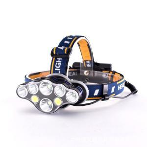 ヘッドライト 1500ルーメン超高輝度 USB 充電式 24点照明モード ヘッドランプ IPX5 防水 アウトドア 登山 夜釣り 作業灯 18650電池付属|11oclock