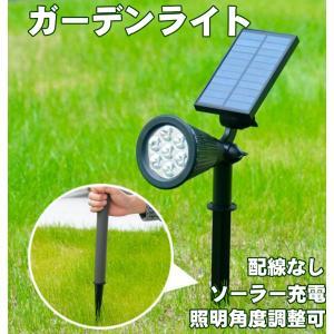 本格的で耐久性のある『ソーラー発電式の LED ライト』です。ソーラーライトですが、しっかり明るく、...