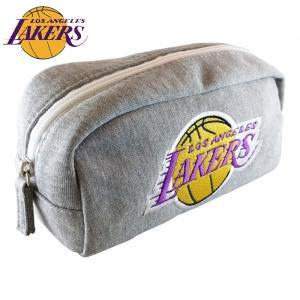 NBA ロサンゼルス・レイカーズ スウェット型ペンポーチ( バスケットボール グッズ ペンケース ペン入れ 筆記用具入れ Los Angeles Lakers )