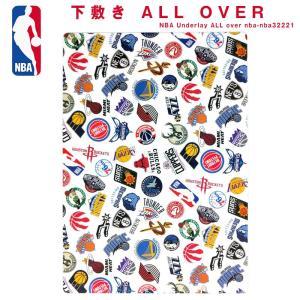 NBA 下敷き ALL OVER( バスケットボール バスケ バスケグッズ グッズ 文具 筆記用具 下敷き NBA エヌビーエー )
