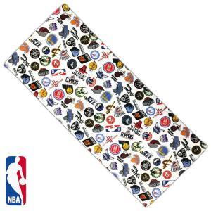 NBA フェイスタオル ALL OVER ( バスケットボール バスケ タオル バスケタオル バスケチーム エヌビーエー )