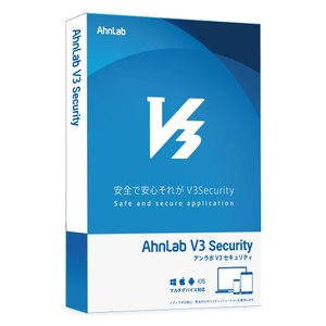 AhnLab V3 Security 2年3台版 ALJ32015|123mk