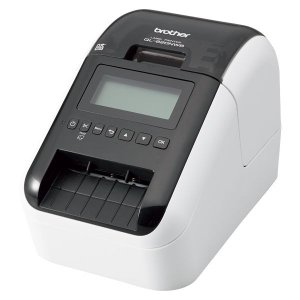 感熱ラベルプリンター(300dpi/無線・有線LAN/Bluetooth/USB)QL-820NWB QL-820NWB|123mk