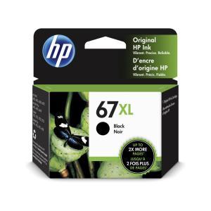 HP 67XL インクカートリッジ 黒 3YM57AA|123mk